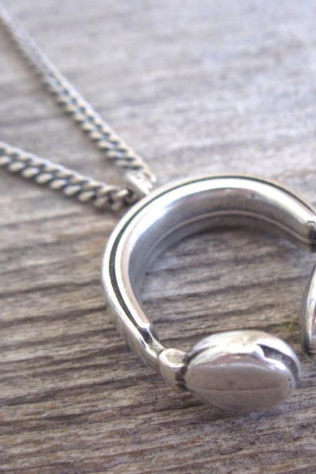 Men Necklace - Men Silver Necklace - Men Jewelry - Men Gift - Boyfriend gift - Husband Gift - Present Fo Men - Male Jewelry - Male Necklace