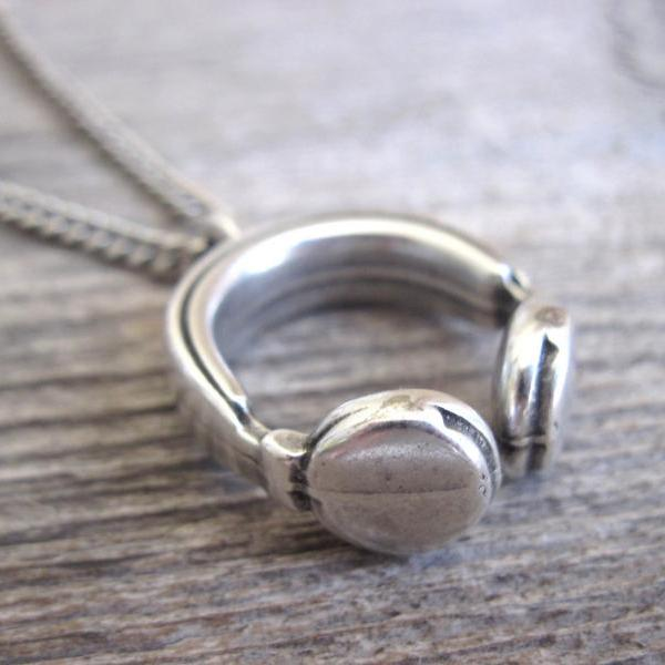 Men's Necklace - Men's Silver Necklace - Men's Jewelry - Men's Gift - Men's Pendant - Boyfriend Gift - Husband Gift - Male Jewelry